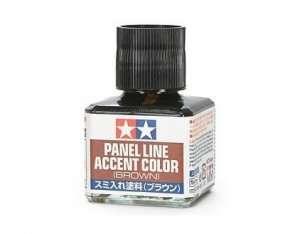 Tamiya 87132 Panel Line Accent Color - Brown 40ml