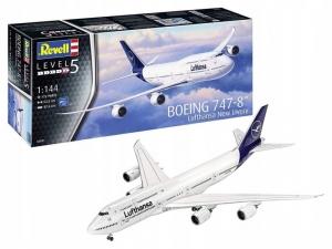 Revell 03891 Samolot pasażerski Boeing 747-8 Lufthansa