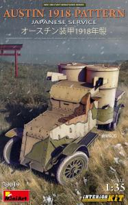 MiniArt 39019 Samochód pancerny Austin 1918 Pattern z wnętrzem