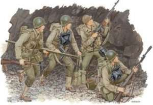 Dragon 6021 Figurki U.S. Rangers (Normandy 1944)