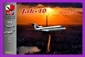Samolot Jak-40 LOT - Big Model 1440017
