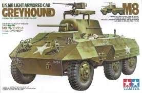 Tamiya 35228 U.S M8 Light Armored Car Greyhound