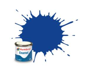 Humbrol 222 Moonlight Blue Metallic - emalia 14ml