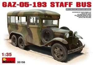Radziecki wóz dowodzenia Gaz-05-193 MiniArt 35156