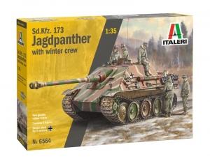 Italeri 6564 Niszczyciel czołgów Sd.Kfz.173 Jagdpanther z załogą