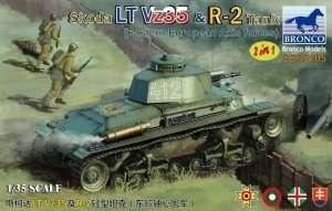 Bronco CB35105 Skoda LT Vz35 and R-2 Tank