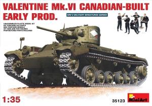 Model MiniArt 35123 Valentine Mk.6 Canadian-early prod