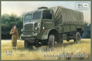 Ciężarówka Bedford QLD IBG 72001