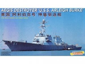 Model niszczyciela rakietowego USS Arleigh Burke Dragon 7029
