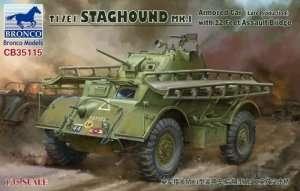 Bronco CB35115 T17E1 Staghound Mk.I