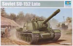 Niszczyciel czołgów SU-152 Trumpeter 05568 1-35