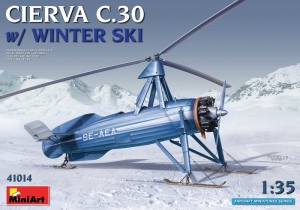 MiniArt 41014 Wiatrakowiec Cierva C.30 skala 1-35