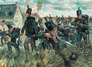 Italeri 6083 British 95th. rgt. Green Jackets