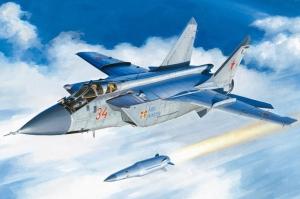Hobby Boss 81770 Samolot MiG-31BM z rakietą KH-47M2