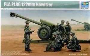 Haubica 122mm PLA PL96 skala 1:35 Trumpeter 02330
