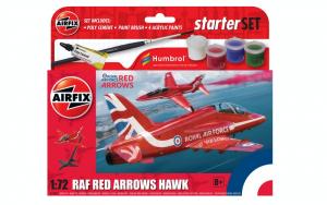 Zestaw modelarski RAF Red Arrows Hawk Airfix A55002 model 1-72
