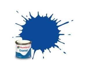 Humbrol 014 French Blue Gloss - emalia 14ml