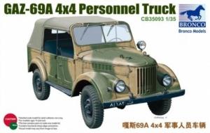 Bronco CB35093 Samochód GAZ-69A 4x4 skala 1-35