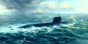 Trumpeter 05911 Japanese Soryu Class Attack Submarine