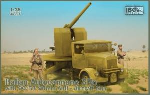 Autocannone 3Ro z działkiem 90/53 IBG 35063