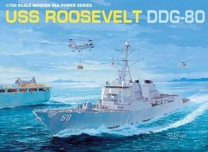 Niszczyciel rakietowy U.S.S. Roosevelt DDG-80 Dragon 7039