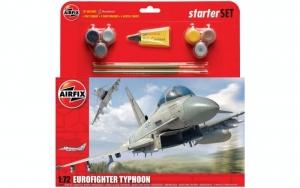 Airfix A50098 Zestaw z farbami Eurofighter Typhoon
