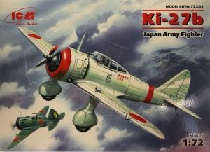 ICM 72202 Samolot Ki-27b model 1-72
