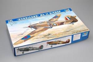 Model Hurricane Mk.II D tropical 02417 Trumpeter