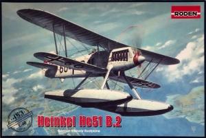 Roden 453 Samolot Heinkel He 51 B.2