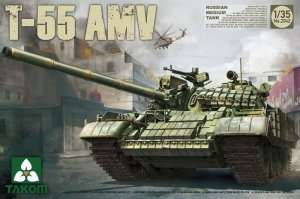 Takom 2042 T-55 AMV Russian Medium Tank