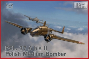 PZL. 37A bis II Łoś polski średni bombowiec IBG 72513