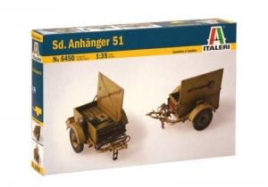 Italeri 6450 Przyczepa na amunicję Sd.Anhanger 51
