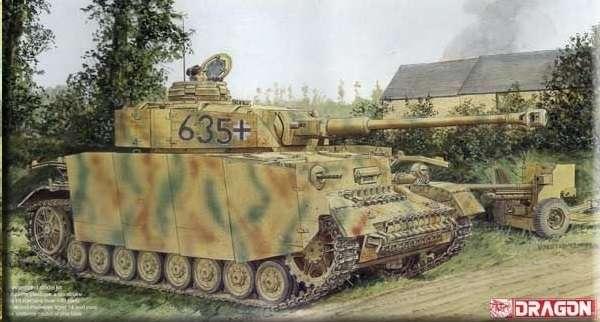 Model niemieckiego czołgu średniego Panzerkampfwagen IV Ausf.H, plastikowy model do sklejania w skali 1/35, Dragon 6611.-image_Dragon_6611_1