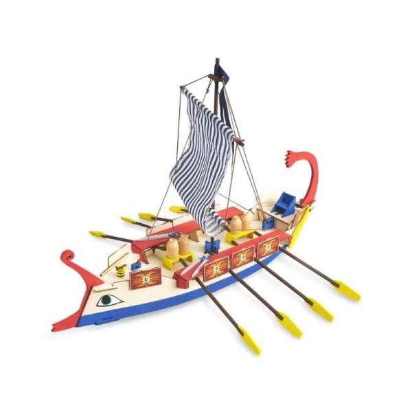 zestaw-modelarski-dla-dzieci-rzymska-galera-cesar-do-sklejania-sklep-modeledo-image_Artesania Latina drewniane modele statków_30508_1