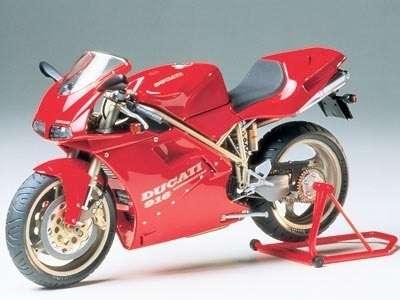 Włoski motocykl Ducati 916, plastikowy model do sklejania Tamiya 14068 w skali 1:12-image_Tamiya_14068_1