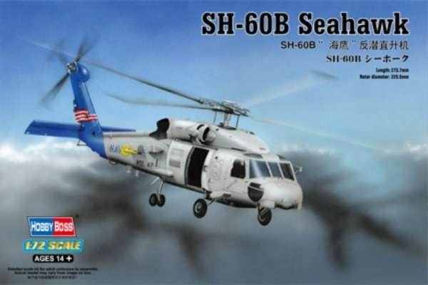 Plastikowy model amerykańskiego śmigłowca SH-60B Seahawk - sklep modeledo - image_1-image_Hobby Boss_87231_1