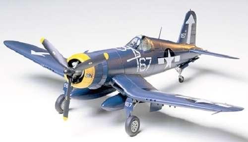 Amerykański myśliwiec Vought F4U-1D Corsair, plastikowy model do sklejania Tamiya 61061 w skali 1:48-image_Tamiya_61061_1