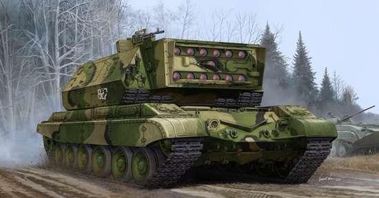 Russian 1K17 Szhatie - samobieżna wyrzutnia rakiet do sklejania model_tru05542_image_1-image_Trumpeter_05542_1