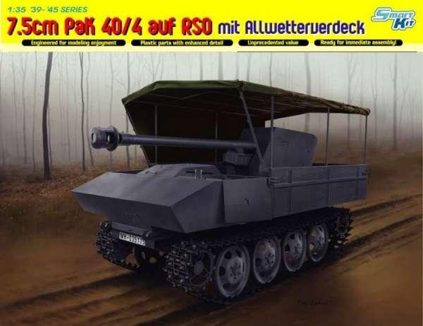 Model działą Pak40 na podwoziu RSO - Dragon 6679-image_Dragon_6679_1