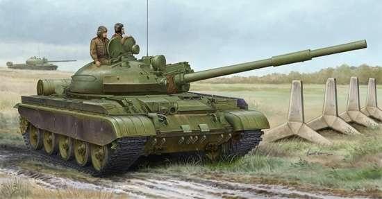 Czołg T-62 mod. 1984, plastikowy model do sklejania Trumpeter 01553 w skali 1:35-image_Trumpeter_01553_1