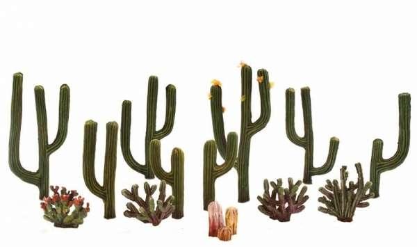 Elementy do makiet, dioram, itp. - kaktusy różne rodzaje - 13 szt - Woodland Scenics TR3600-image_Woodland Scenics_TR3600_1