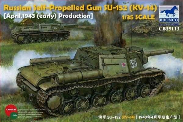 model_do_sklejania_bronco_cb35113_self_propelled_gun_su_152_sklep_modelarski_modeledo_image_1-image_Bronco Models_CB35113_1