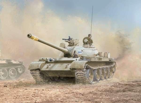 Iracki czołg T-55 - plastikowy model redukcyjny do sklejania w sklai 1:35 - Italeri 6540.-image_Italeri_6540_1