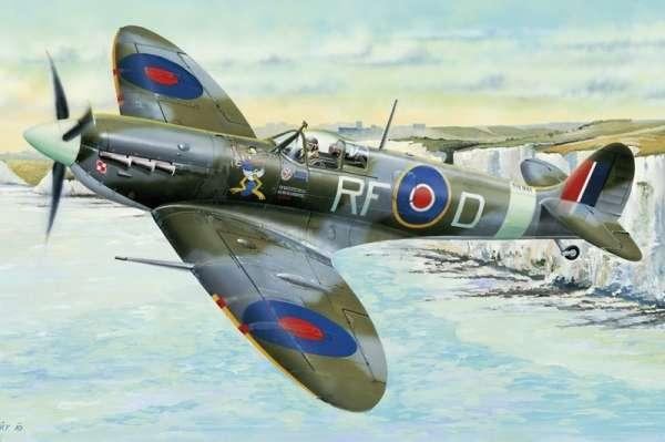 Brytyjski jednomiejscowy myśliwiec Supermarine Spitfire Mk.Vb, plastikowy model do sklejania Hobby Boss 83205 w skali 1:32-image_Hobby Boss_83205_1