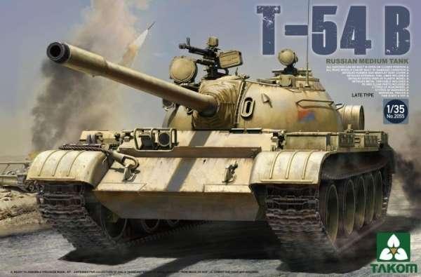 Radziecki czołg średni T-54B, plastikowy model do sklejania Takom 2055 w skali 1:35-image_Takom_2055_1