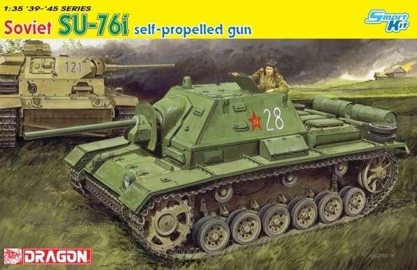 Radzieckie samobieżne działo SU-76i, plastikowy model do sklejania Dragon 6838 w skali 1/35.-image_Dragon_6838_1