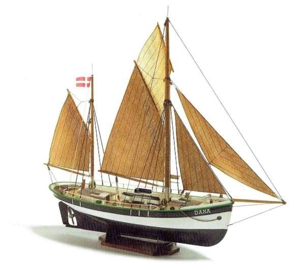 Kuter rybacki Dana , polistyrenowo drewniany model do sklejania Billing Boats BB200 w skali 1:60-image_Billing Boats_BB200_1