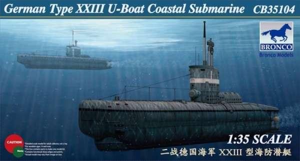 model_do_sklejania_bronco_cb35104_german_u_xxiii_coastal_submarine_sklep_modelarski_modeledo_image_1-image_Bronco Models_CB35104_1
