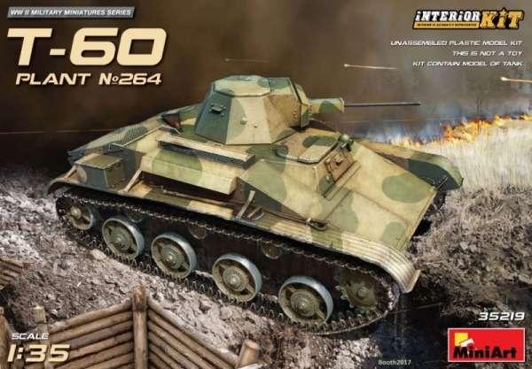 Radziecki lekki czołg rozpoznawczy T-60 , plastikowy model do sklejania MiniArt 35219 w skali 1:35-image_MiniArt_35219_1