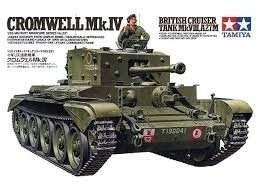 Brytyjski czołg Cromwell Mk. IV, plastikowy model do sklejania Tamiya 35221 w skali 1:35-image_Tamiya_35221_1